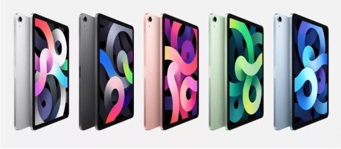شركة أبل تعلن في مؤتمرها السنوي يوم 15 سبتمبر 2020 عن الجيل الثامن من أيباد آير بألوان مبتكرة