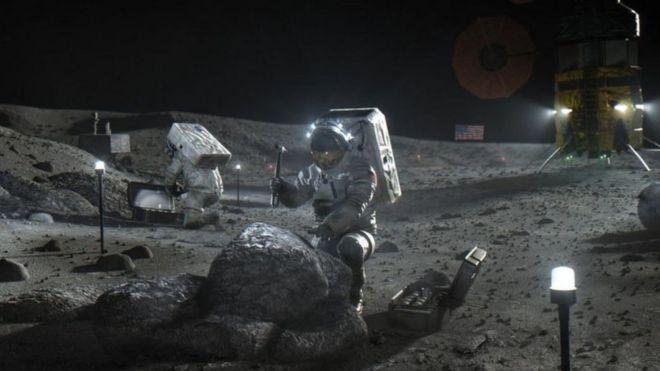 ترغب ناسا العودة إلى القمر والبقاء هذه المرة