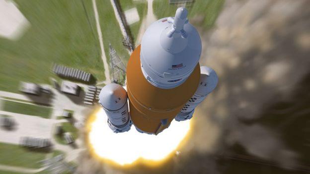 """من المقرر أن ينطلق الصاروخ """"إس إل إس"""" في أولى رحلاته العام المقبل"""