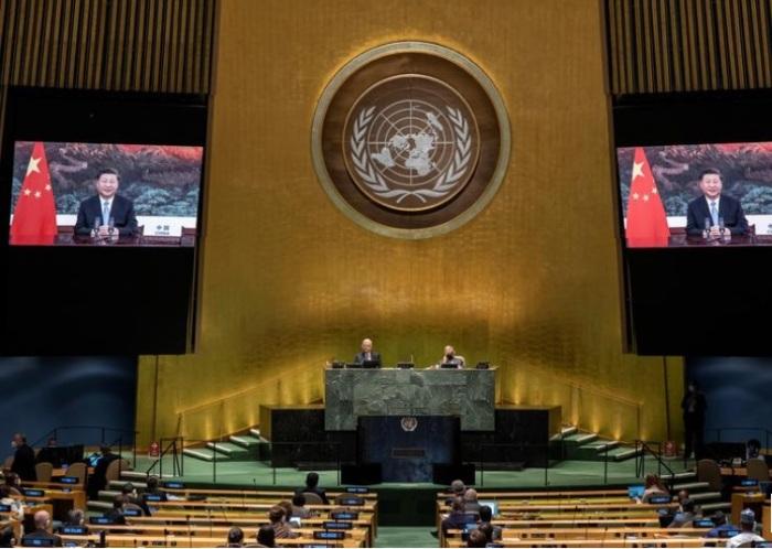 كلمة الرئيس الصيني أمام الجمعية العامة للأمم المتحدة يوم الثلاثاء 22 سبتمبر 2020