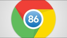 اصدار 86 من متصفح كروم لشركة جوجل