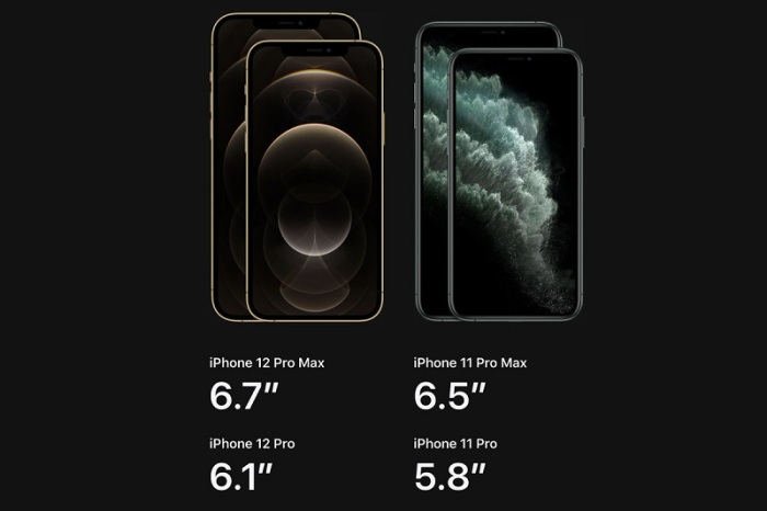 مقارنة بين شاشات أيفون 12 والجيل السابق من أيفون 11
