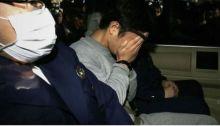 تاكاهيرو شيرايشي إثر اعتقاله في عام 2017
