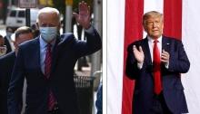 مرشحي الرئاسة الأمريكية 2020 دونالد ترامب و جو بايدن