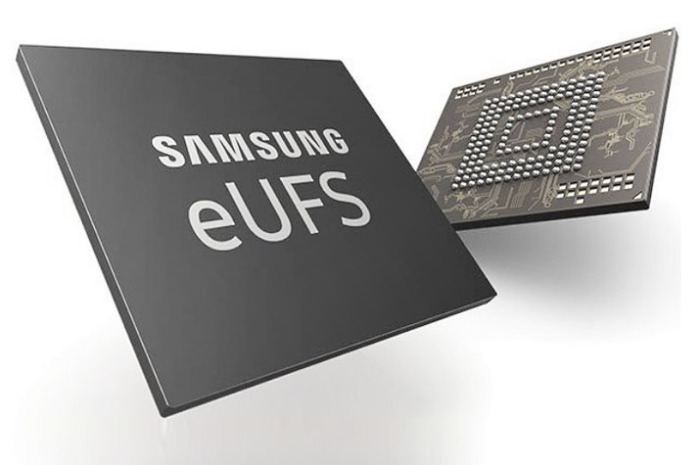 شائح للذاكرة الإلكترونية لشركة سامسونج من طراز eUFS