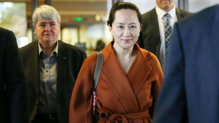 ألقي القبض على منج وانزو المديرة المالية لشركة هواوي في كندا عام 2018