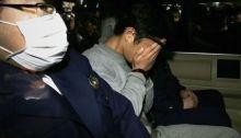 تاكاهيرو شيراشي بعد القبض عليه عام 2017