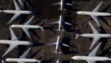 عدد الرحلات الجوية في 2020 انخفض بسبب وباء فيروس كورونا، الأمر الذي أوقف طائرات عن العمل على مستوى العالم.