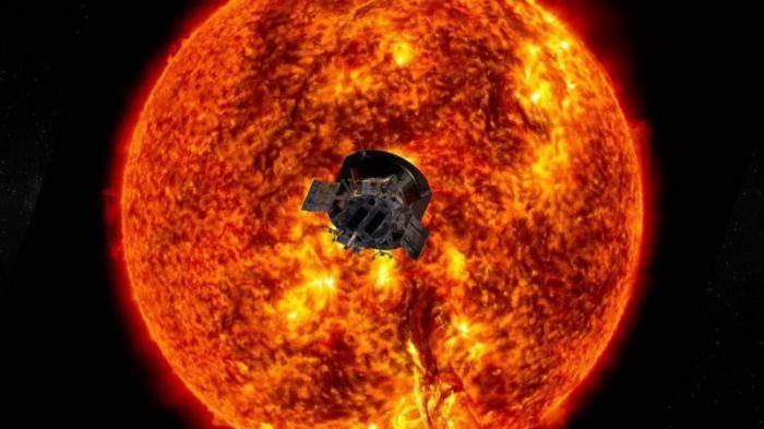 """وصل المسبار الشمسي """"باركر"""" التابع لوكالة ناسا إلى أقرب نقطة يبلغها جسم صنعه البشر من الشمس"""