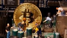 صورة تعبيرية عن الأرتفاع الهائل في قيمة العملة الرقمية الـ بيتكوين