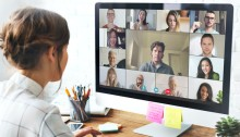 شعبية كبيرة لتطبيق زوم في عقد إجتماعات العمل خلال جائحة كورونا