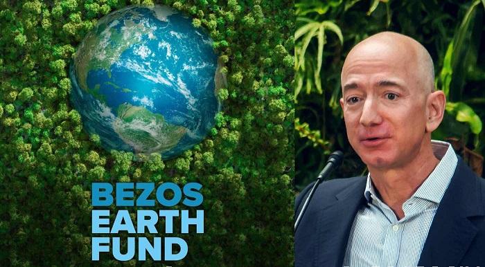 صندوق بيزوس إيرث هو مشروع الحلول لتسريع الانتقال إلى طاقة نظيفة بنسبة 100٪ والوصول إلى الهواء والماء والأرض الصحيين لحياة أفضل للبشر.
