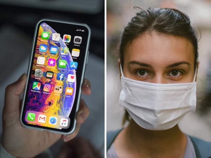 تكنولوجيا التعرف علي الوجوه في أيفون ستعمل حتي وأنت ترتدي كمامة طبية