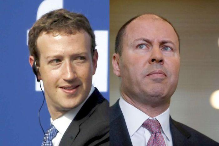 يجري مؤسس شركة فيسبوك مارك زوكربيرج و وزير الخزانة في استراليا جوش فرايدنبرج محادثات منتظمة حول قوانين الإعلام المقترحة