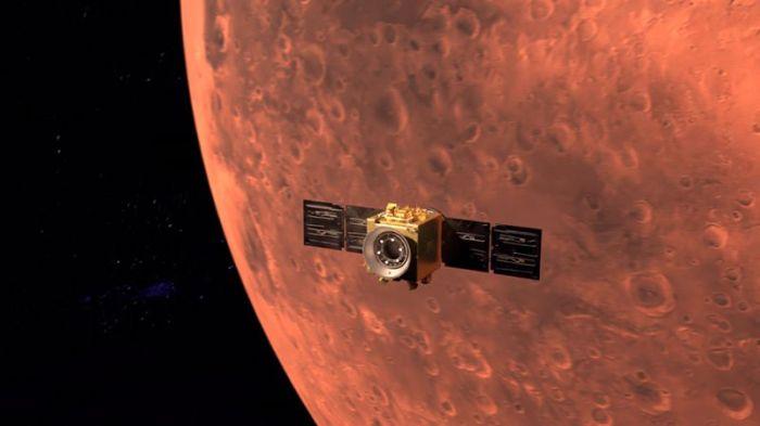 مسبار الأمل الإماراتي يقترب من المريخ