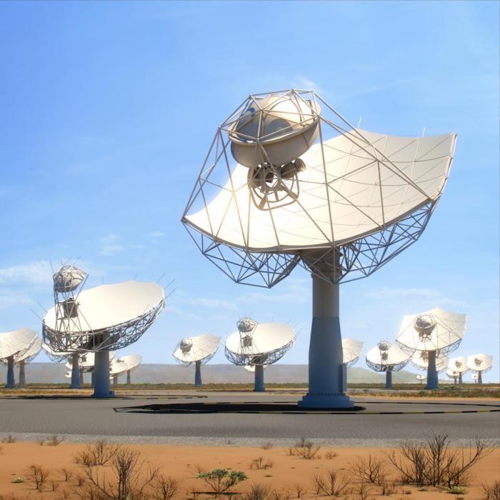 ستوفر تلسكوبات الأطباق العريضة التي يبلغ عرضها 15 مترًا لـ SKA بعضًا من إمكانات التصوير عالية الدقة