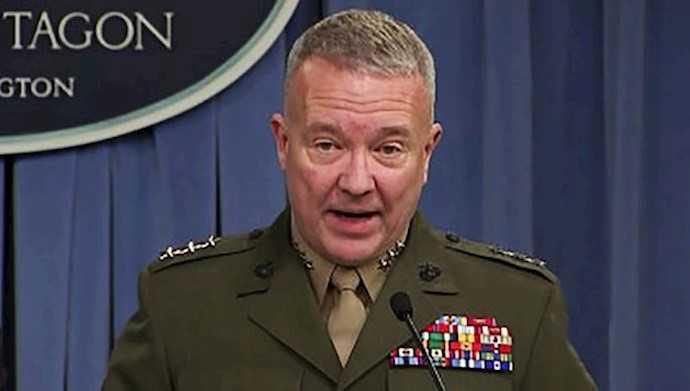 قائد القيادة المركزية الأميركية الجنرال، كينيث ماكنزي،