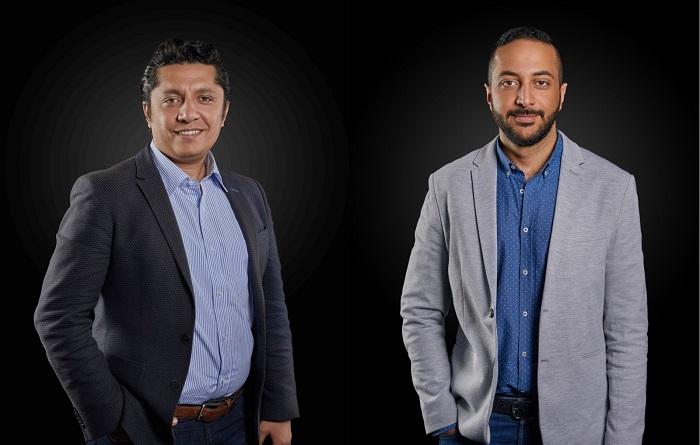 أمير برسوم الرئيس التنفيذي لفيزيتا ومحمد الموجي رئيس تطوير المنتجات
