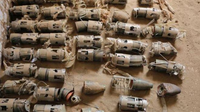 قنابل عنقودية صُدرت لمنطقة الشرق الأوسط