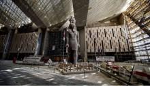 المتحف المصري الجديد يقترب من موعد إفتتاحه
