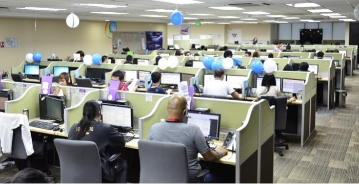 مركز اتصالات لخدمة الشركات العالمية بمدينة القاهرة