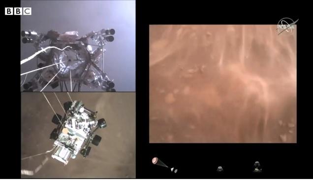 """ناسا: مركبة """"برسفيرنس"""" الفضائية المتجولة تسجل صورا لم نرها من قبل للمريخ"""