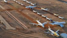 خزنت كانتاس حوالي ثلثي طائراتها منذ انتشار فيروس كورونا