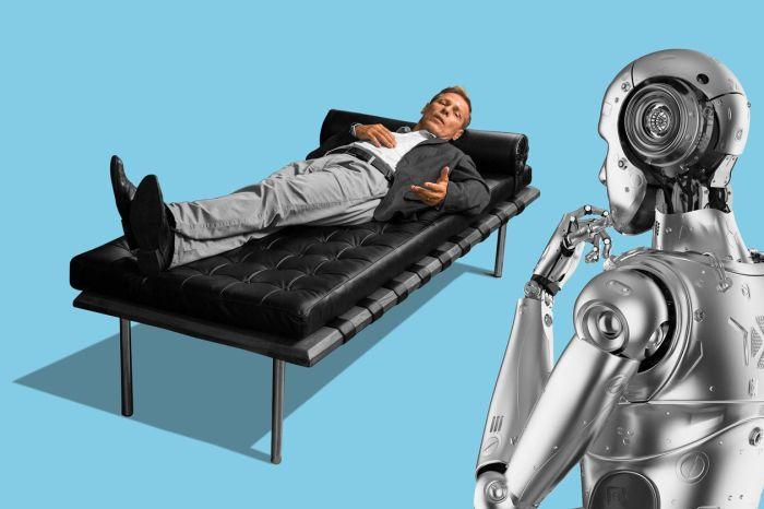 قد يساعد الذكاء الاصطناعي في التخفيف من النقص في العاملين في مجال الصحة العقلية.