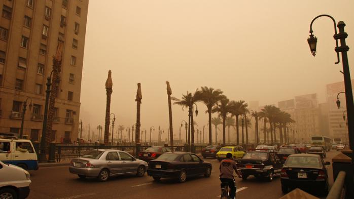 تلوث الهواء في مدينة القاهرة العاصمة المصرية