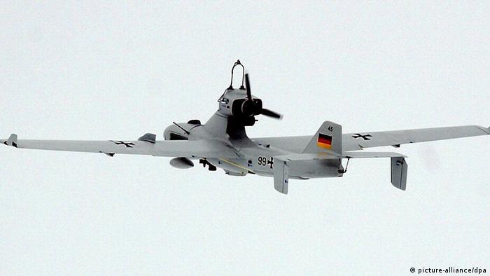 """طائرة الاستطلاع بدون طيار """"لونا"""" تابعة للجيش الألماني"""