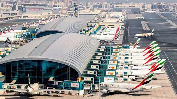 مطار دبي يغطي تكاليف التشغيل حاليا من خلال العمل بطاقة 20 في المئة فقط .