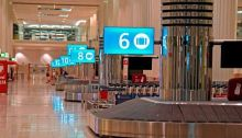 توقفت خدمة إنزال الحقائب في مطار دبي بالكامل بعد تراجع حركة الركاب بنسبة 70%