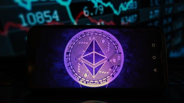 شعار العملة الرقمية إيثر كوين