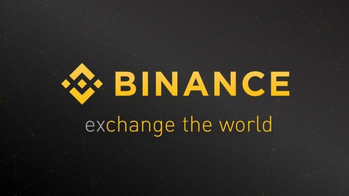 شعار بورصة العملات الرقمية باينانس