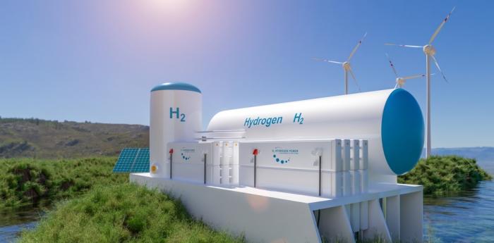 وحدة لتوليد الهيدروجين أحد مصادر الطاقة النظيفة