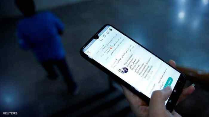 عشرات الملايين من الإيرانيين يستخدمون تطبيقات محظورة