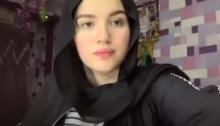 """ظهرت حنين في فيديو لاحق دافعت فيه عن نفسها، وقالت إن الفيديو الذي بثته """"تم اقتطاعه وتحريفه"""""""