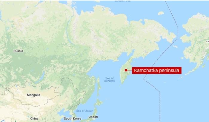 مكان تحطم الطائرة الروسية المنكوبة التي تحطمت وعلي متنها 28 شخصا يوم 6 يوليو 2021