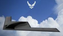 """قاذفة أمريكية حديثة من طراز """"بي-21"""""""