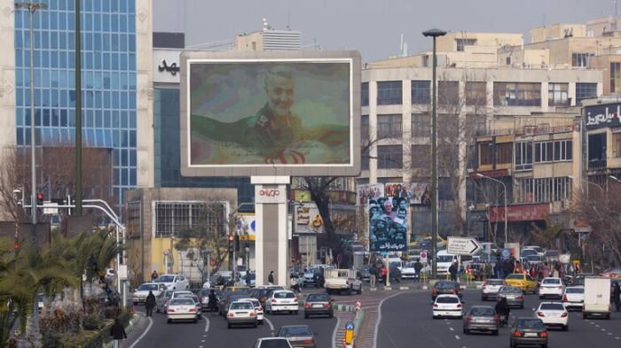 شوارع في العاصمة الإيرانية طهران