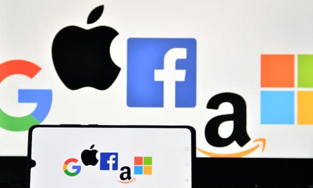 تبلغ القيمة السوقية للشركات الخمس مجتمعة أكثر من ثلث مؤشر S&P 500 بأكمله لأكبر 500 شركة متداولة في أمريكا