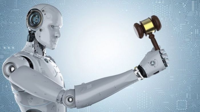 يستخدم الذكاء الاصطناعي على نطاق واسع في الدوائر القضائية