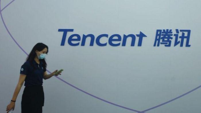 شعار شركة تينسينت الصينية