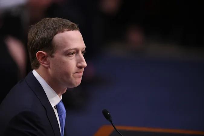 مارك زوكربيرج مؤسس والرئيس التنفيذي لشركة فيسبوك