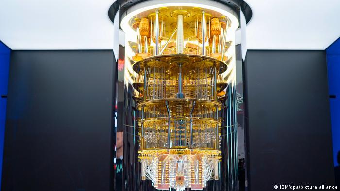 جهاز كمبيوتر يستخدم نكنولوجيا الحوسبة الكمية