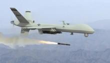 طائرة مسيرة (درون) أمريكية مسلحة من طراز MQ-9 Reaper بدون طيار