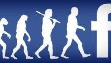 التطور الطبيعي للجنس البشري ينتهي بـ فيسبوك