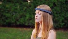عصبة الرأس الذكية التي تساعد علي الاسترخاء