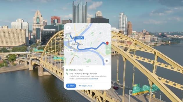 اعتبارًا من يوم الأربعاء 6 أكتوبر 2021، أصبح التوجيه الصديق للبيئة لخرائط جوجل متاحًا في الولايات المتحدة