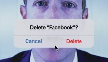 غلاق مجلة التايم يخفي فم مارك زوكربيرج ويعطي أقتراح بإلغاء منصة فيسبوك